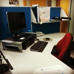 Desk, before.